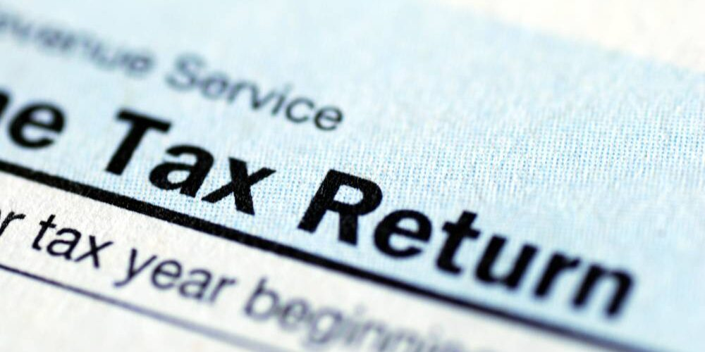 government tax return paper